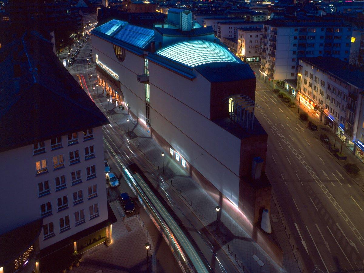 MMK Museum für Moderne Kunst - outside view