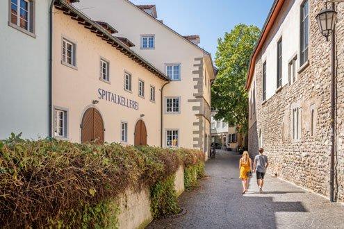 Die Spitalkellerei in der Niederburg