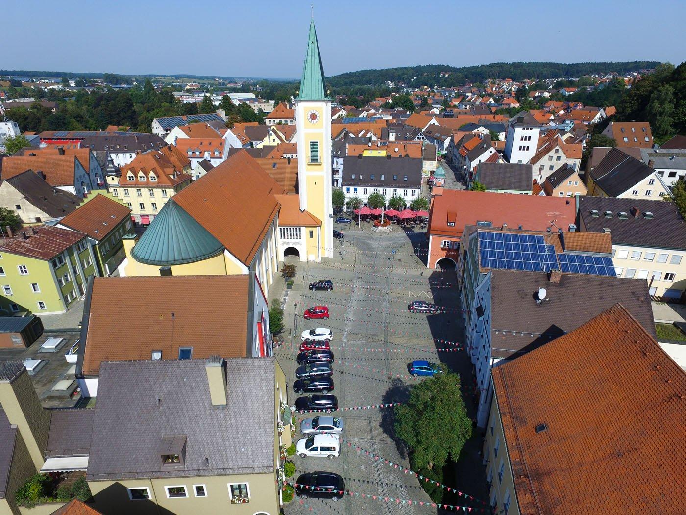 Stadtansicht von Mainburg