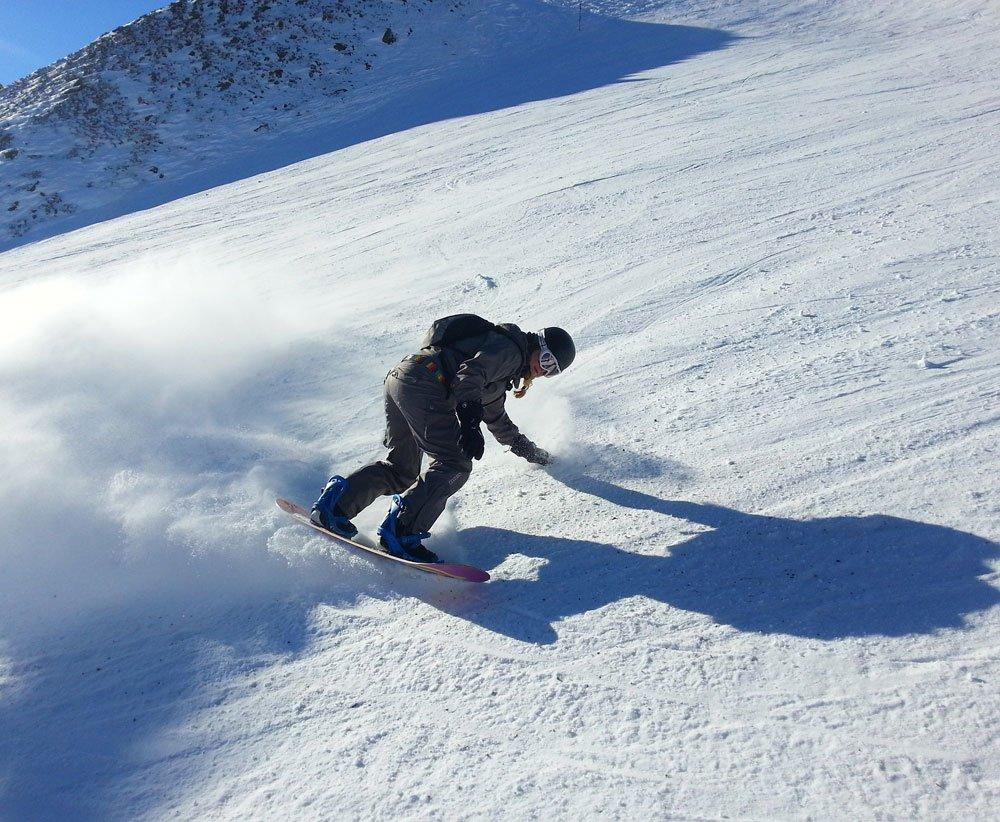 Snowboarden am Großen Arber und Hohen Bogen im Bayerischen Wald