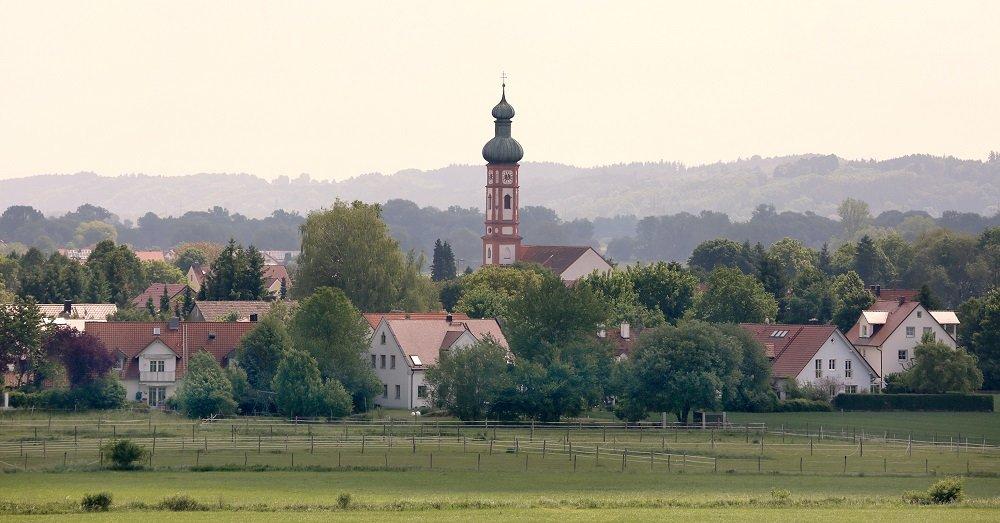 Ortsansicht von Kirchdorf a. d. Amper