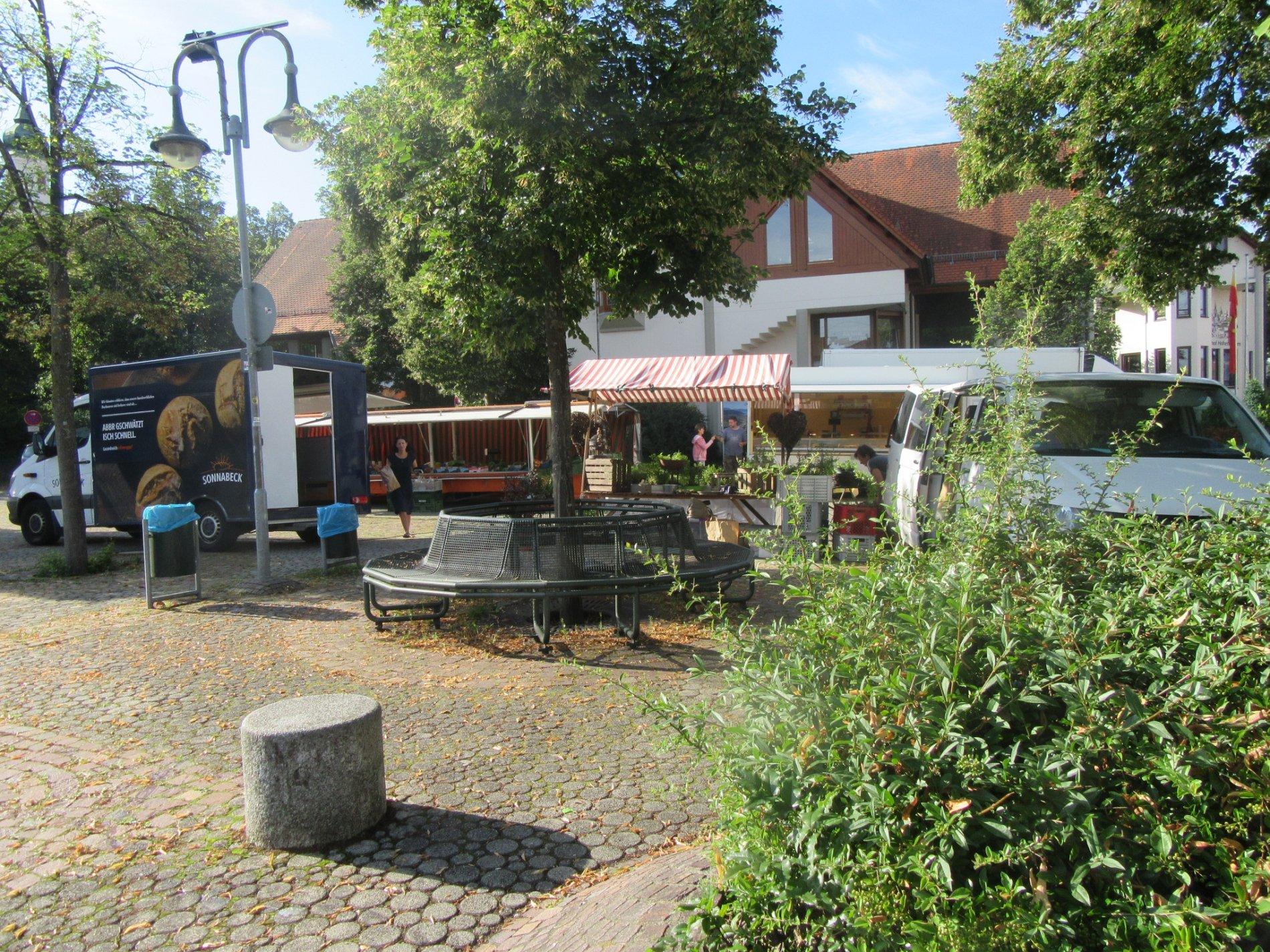 Wochenmarkt Bisingen