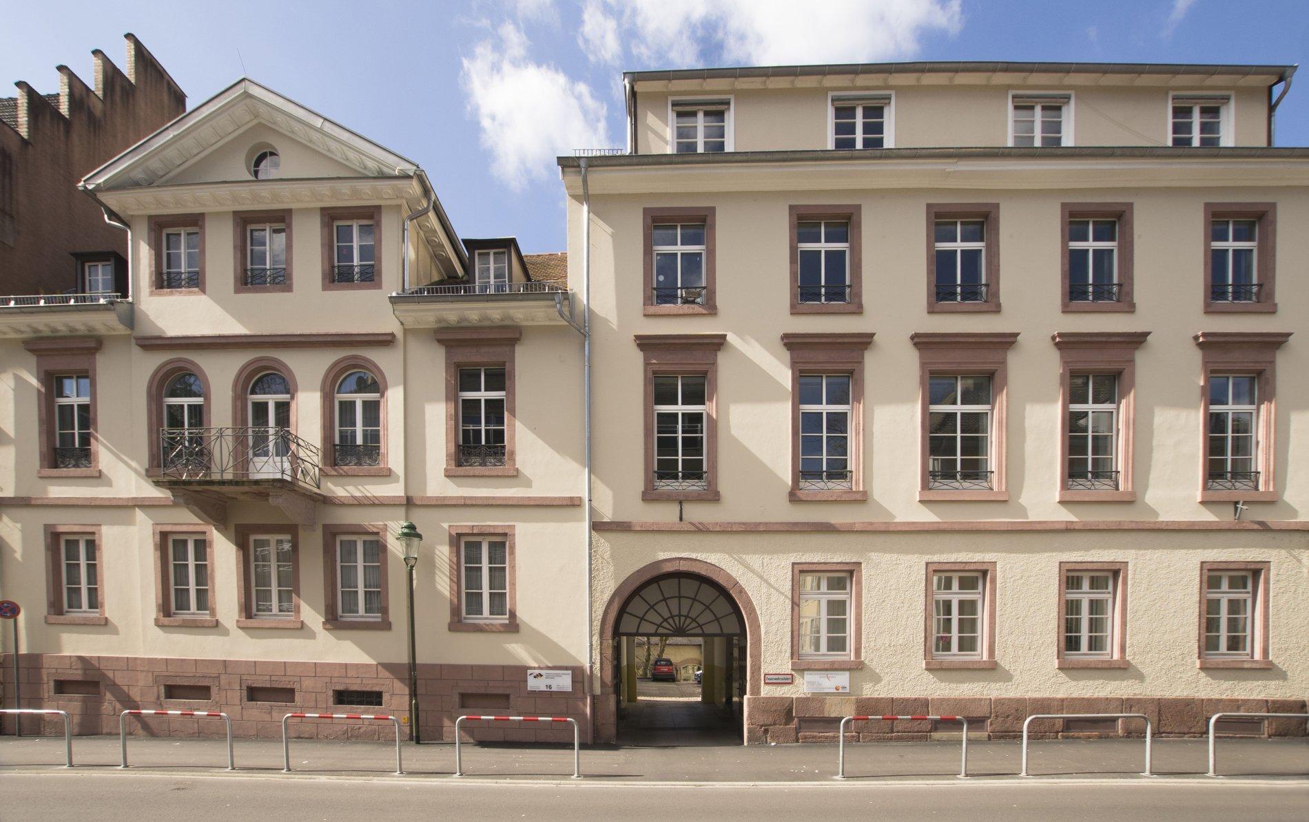 Gebäude Clara-Schumann-Musikschule in der Stephanienstraße