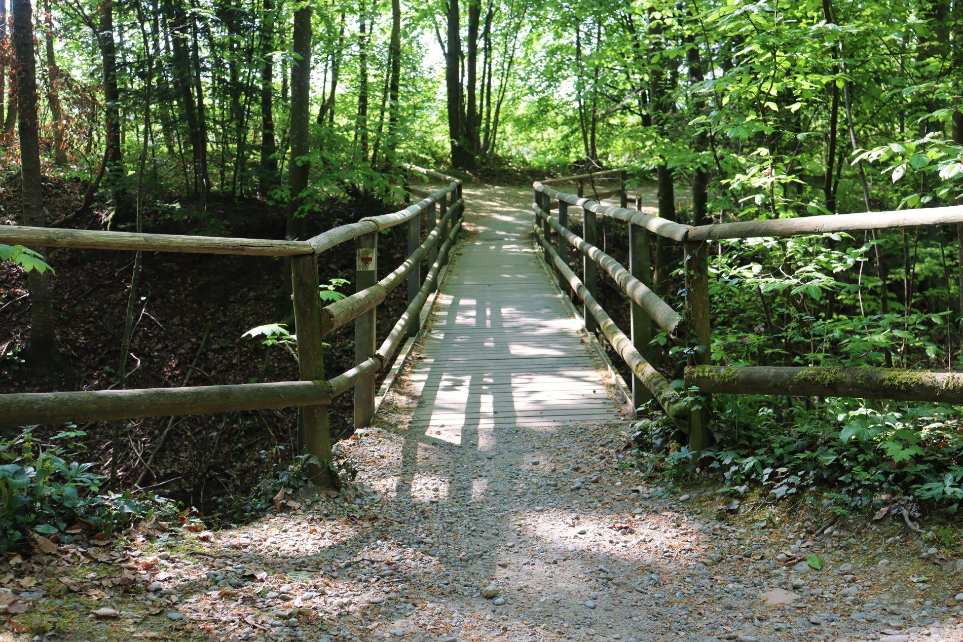 Brücke am Mühlbach