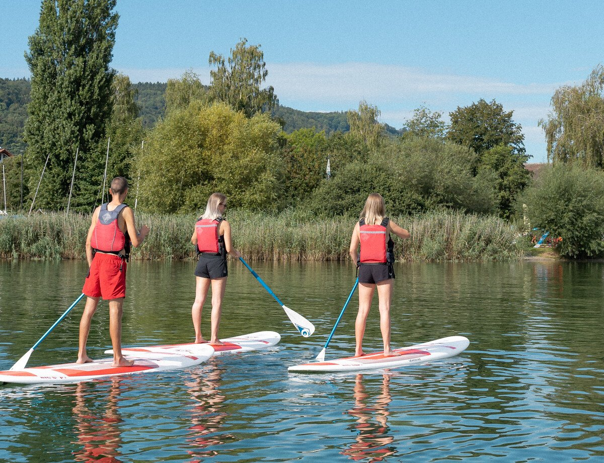 Stand-Up-Paddling in Bodman-Ludwigshafen