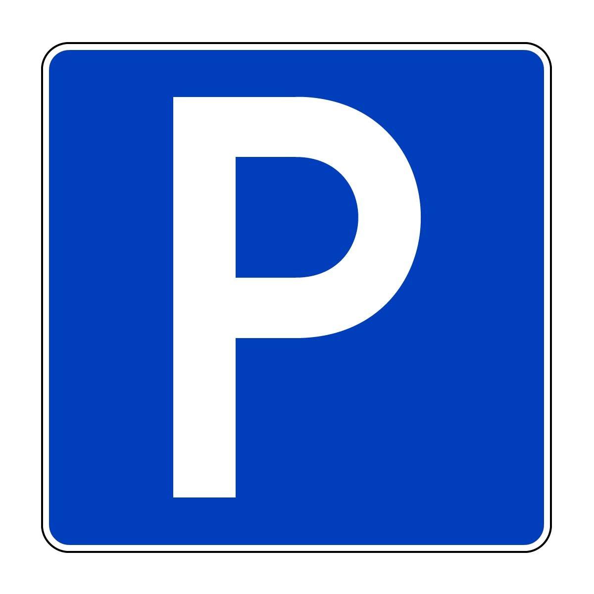 Symbol Parkplatz