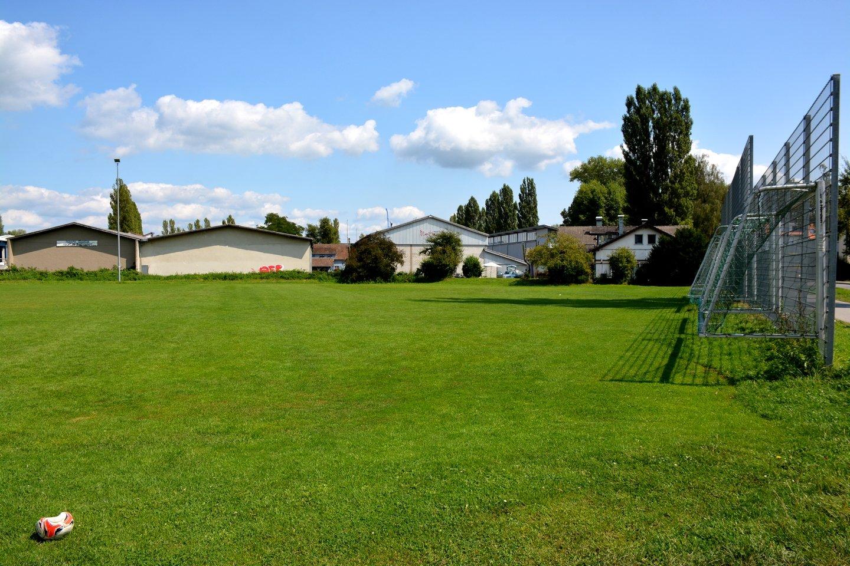 Fußballplatz beim Mettnau Stadion