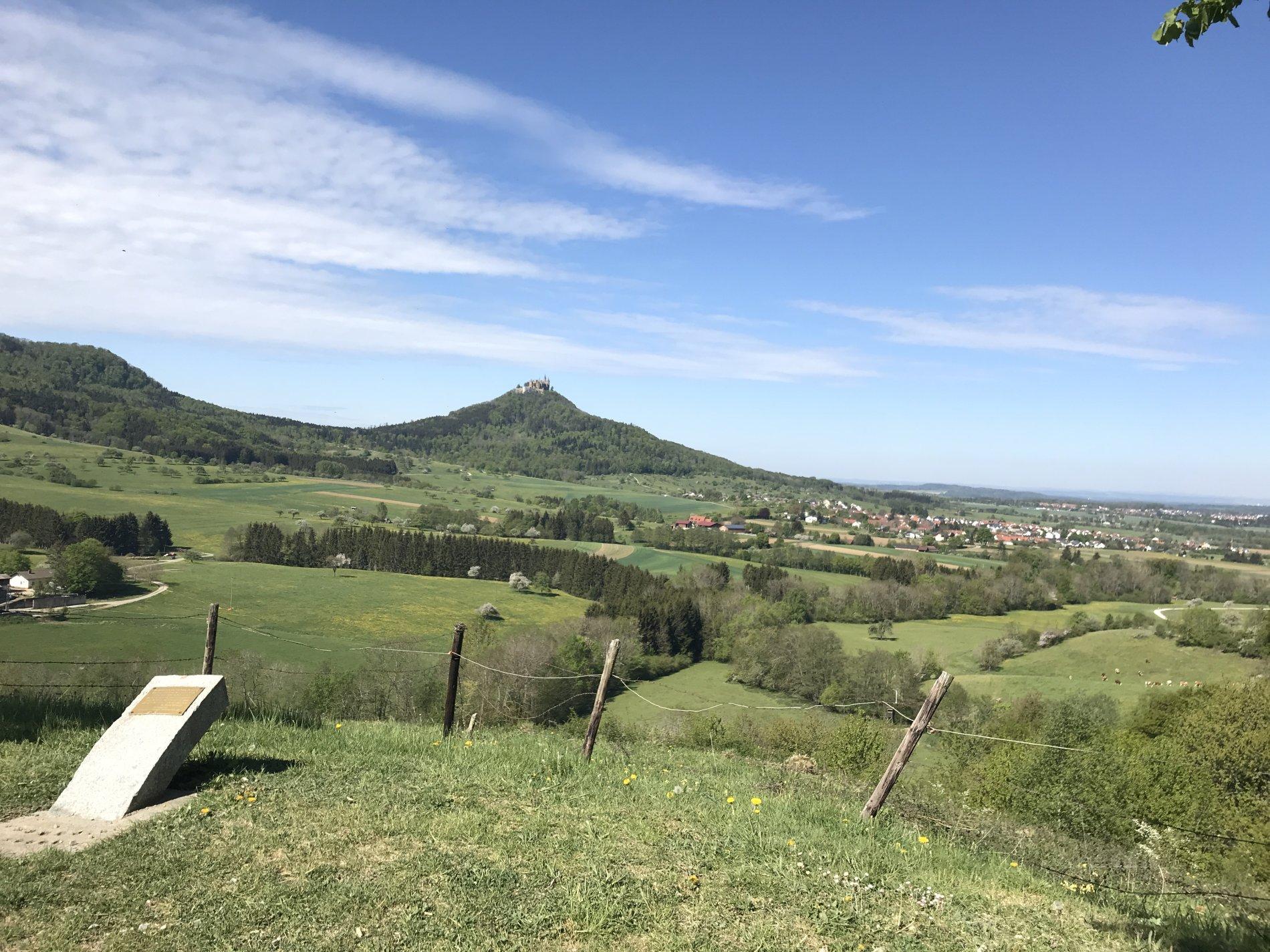 Aussichtspunkt Bollemer Kapf an der Neuberg-Tour in Hechingen
