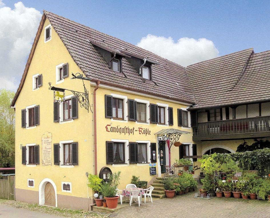 Hausansicht Historischer Landgasthof Rössle