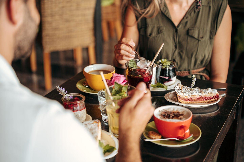 Frische Salate von der Salatbar