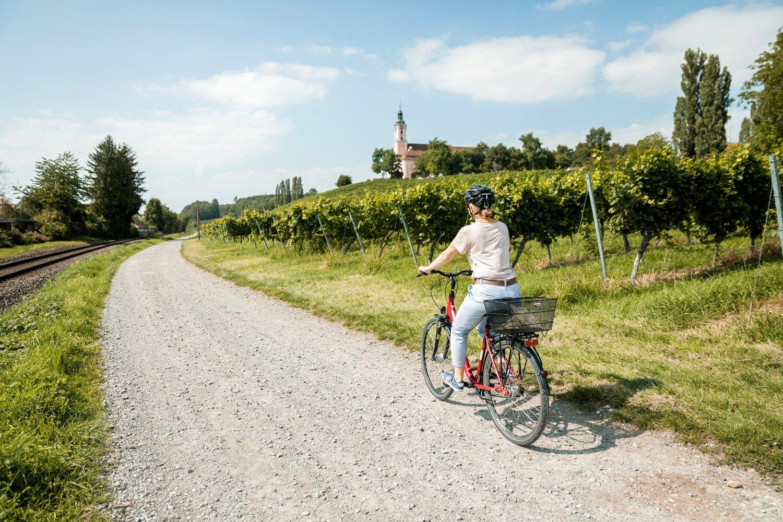 Fahrradtour vorbei am Kloster Birnau
