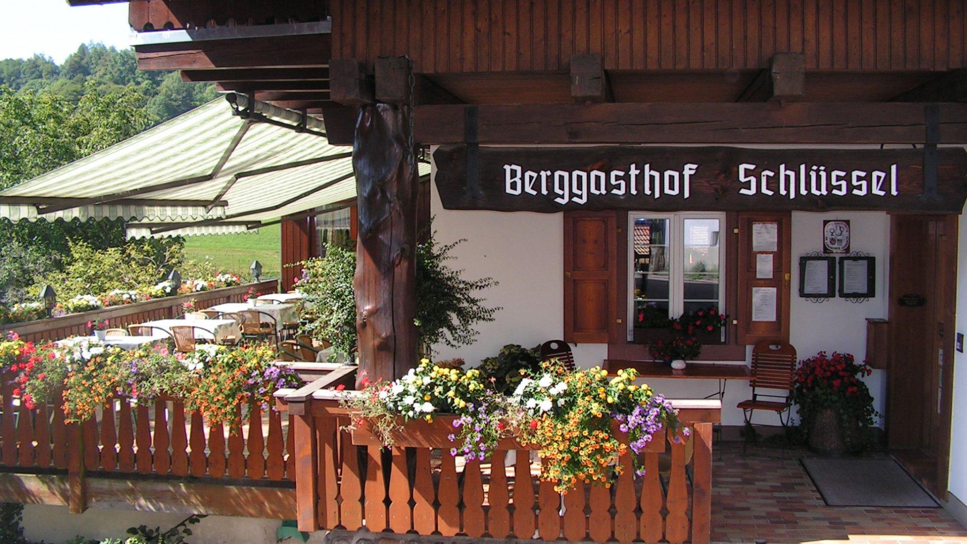 Berggasthof Schlüssel in Zell im Wiesental, Ortsteil Pfaffenberg