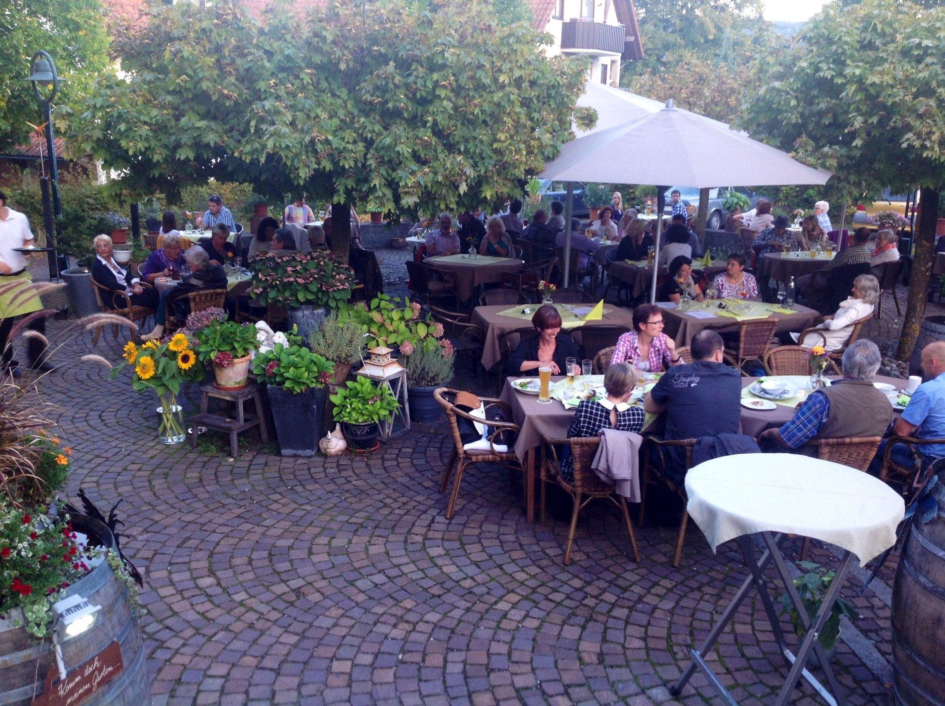 Aussenbereich Gasthaus Zum Fährmann