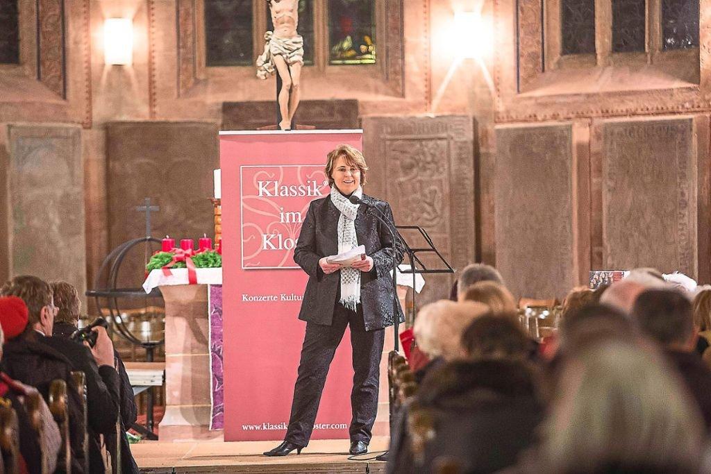 """Sabine Zoller_Organisatorin von """"Klassik im Kloster"""" und freie Journalistin"""