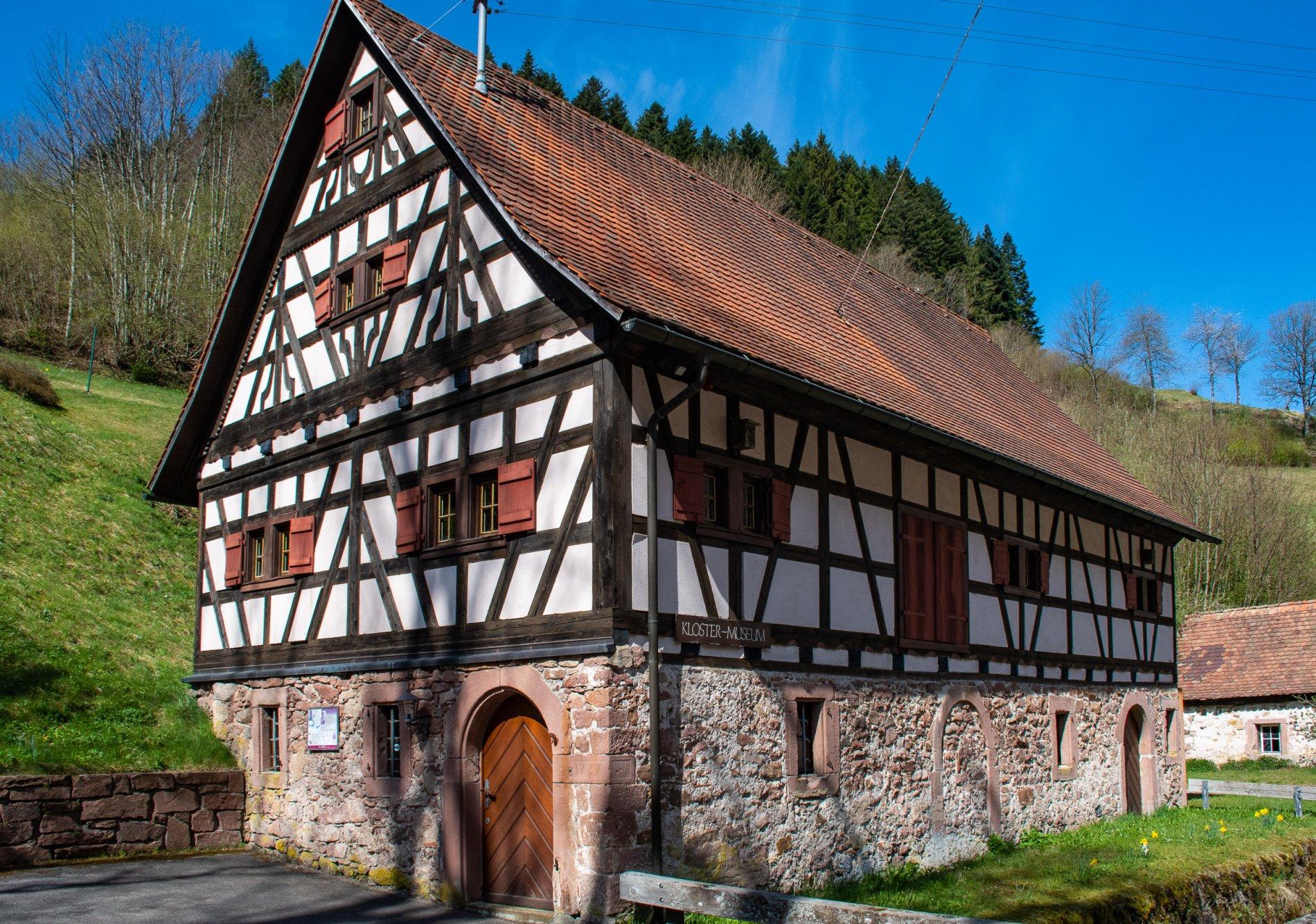 Gebäude Klostermuseum Wittichen