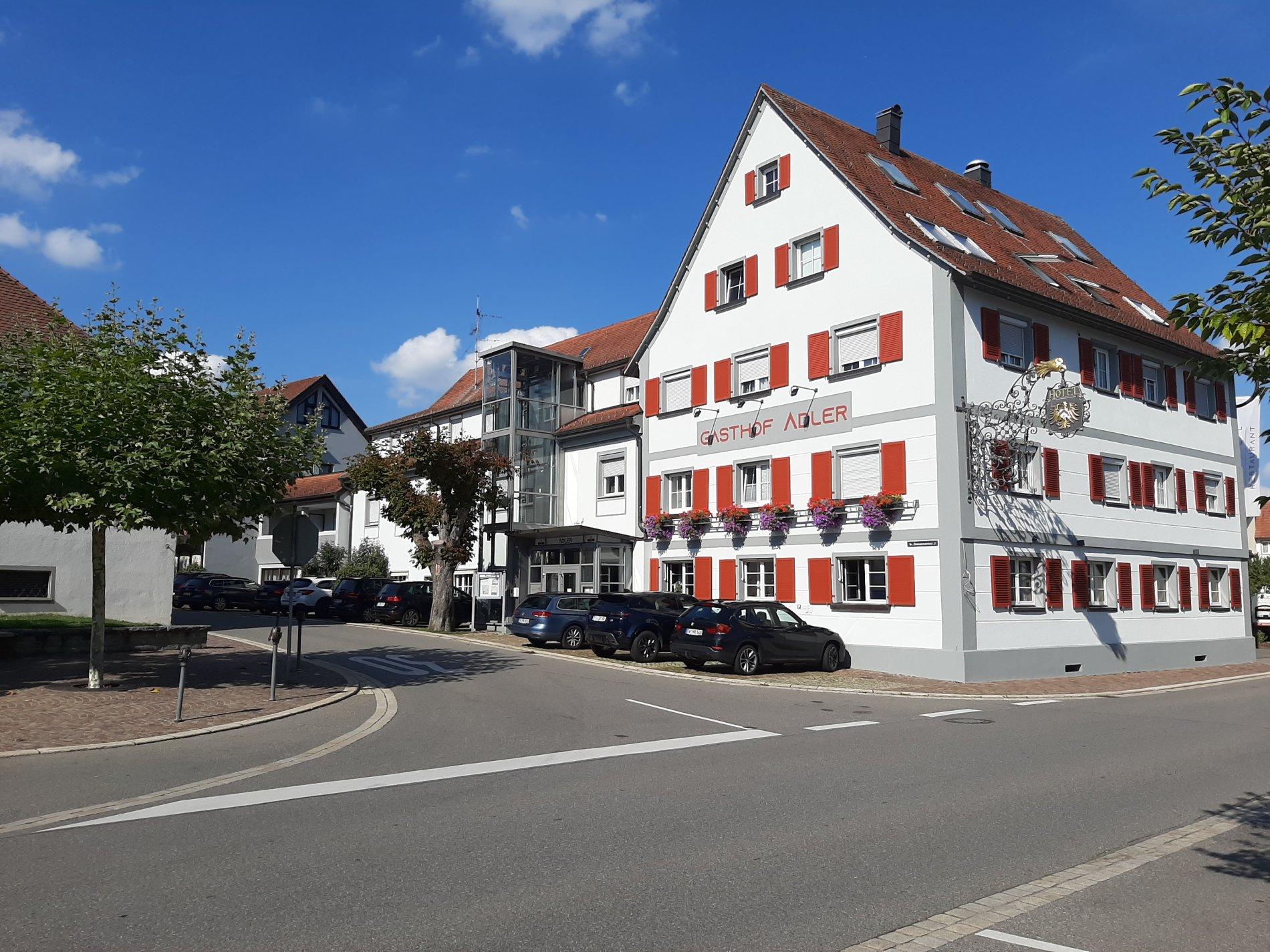 Eingangstür Gasthof Adler