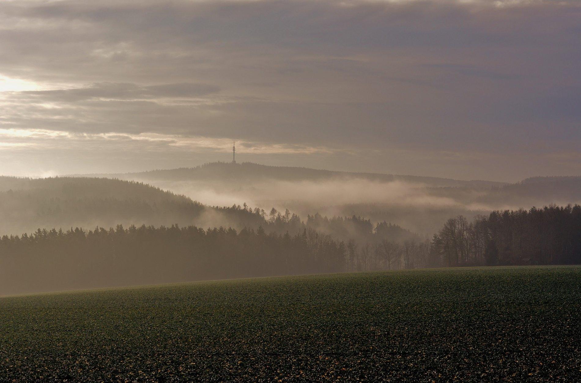 Landschaft im Vogtland