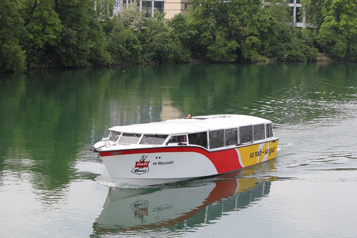 Öufi-Boot Aare Solothurn