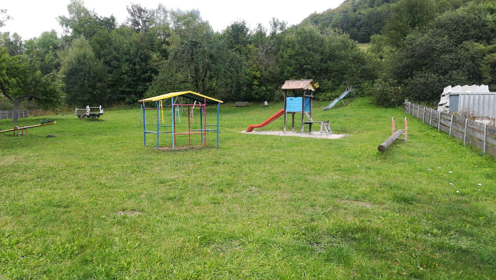 Spielplatz Ortsmitte - Viel Spaß beim Spielen!