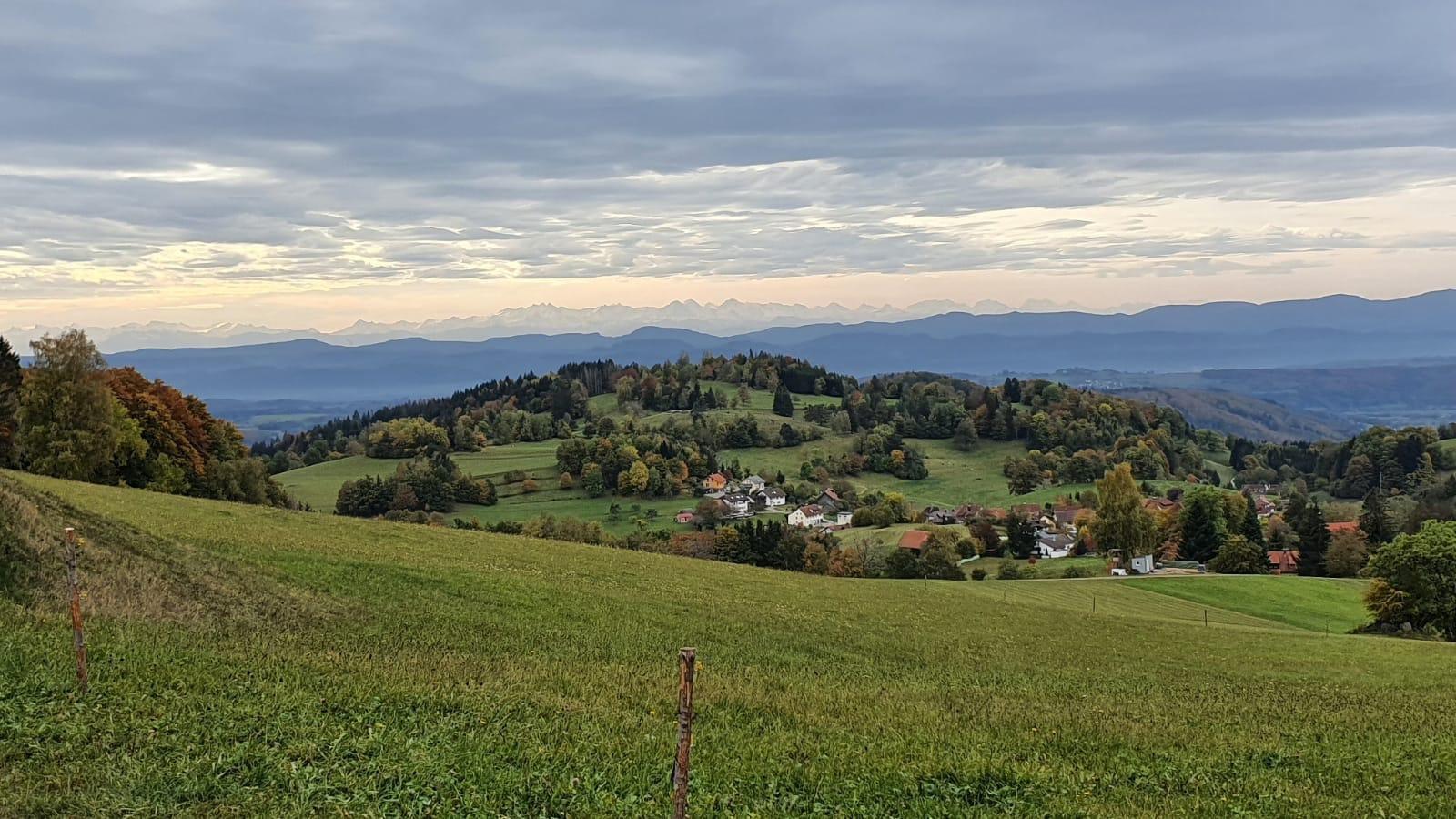 Wanderung im Zeller Bergland