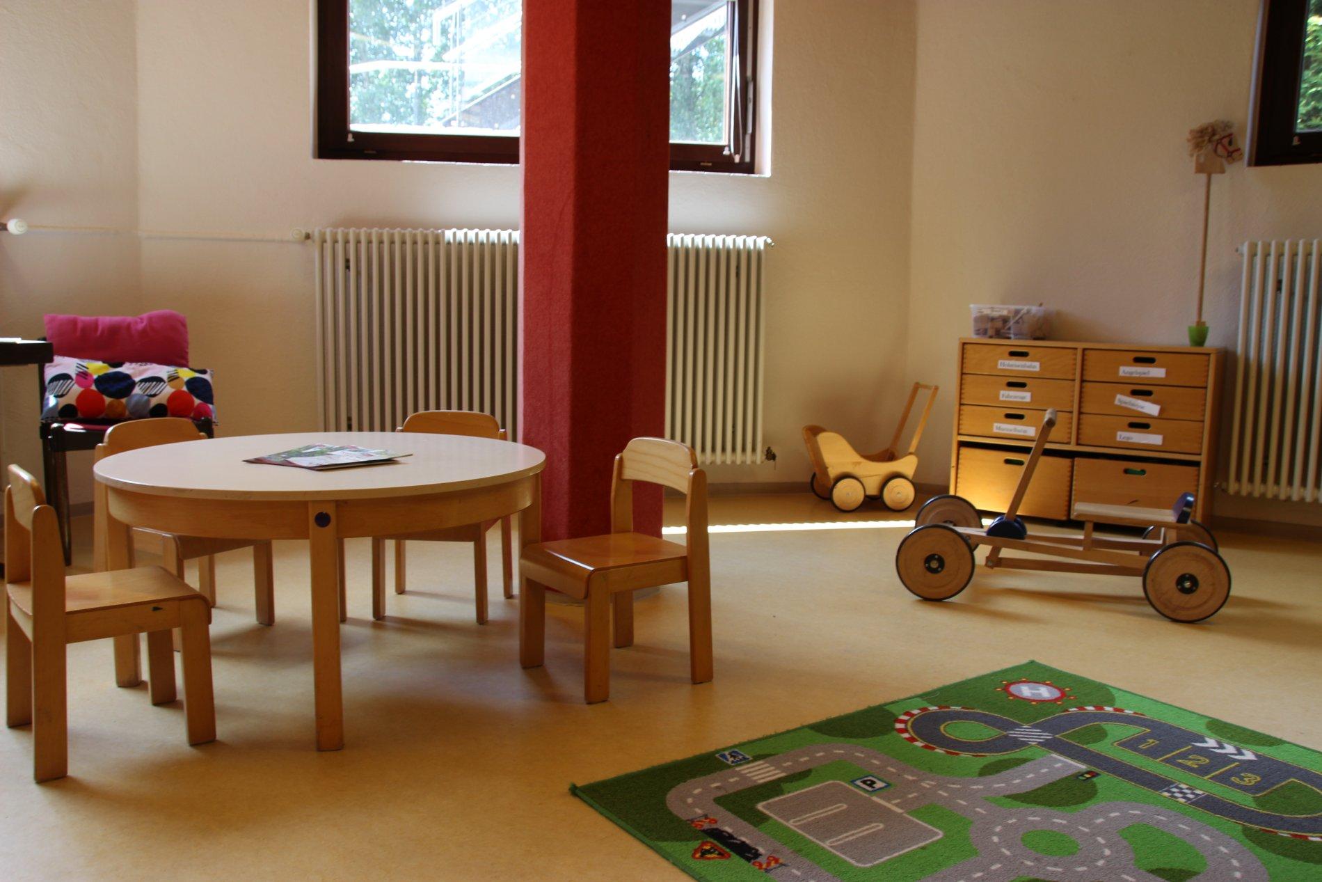 Spielzimmer im Kurhaus Titisee
