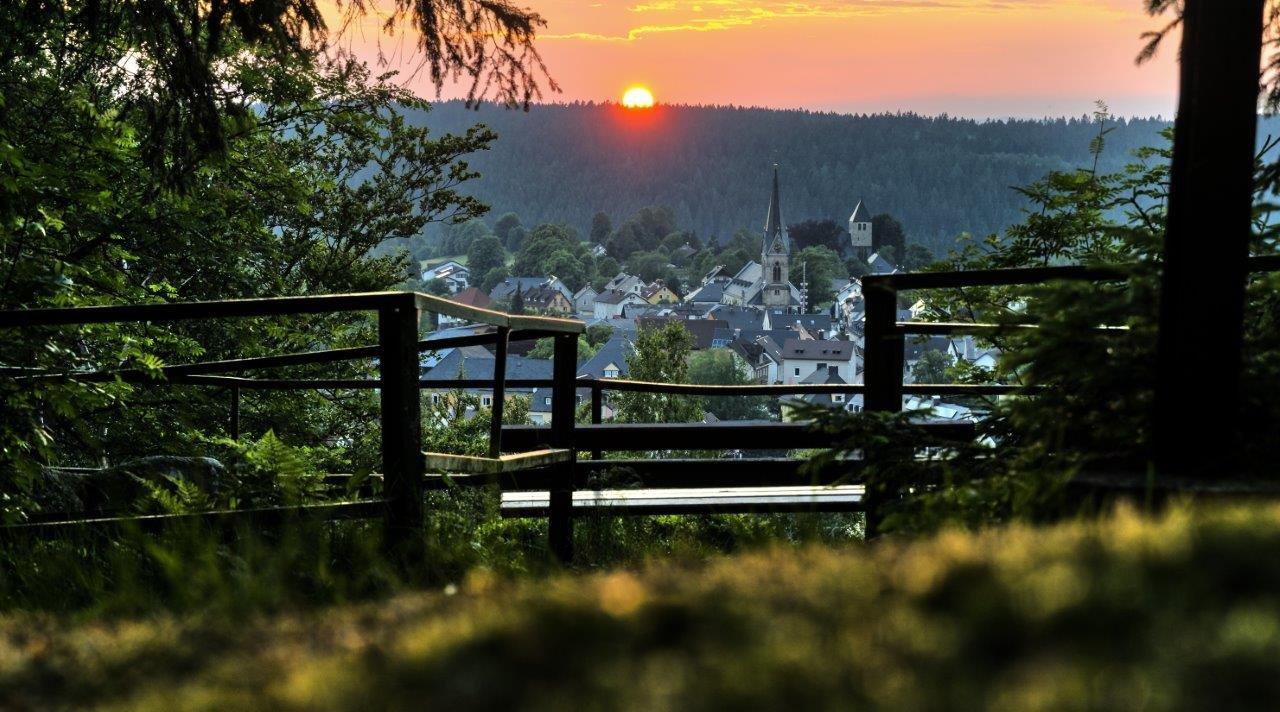 Panoramaweg Hügelabend