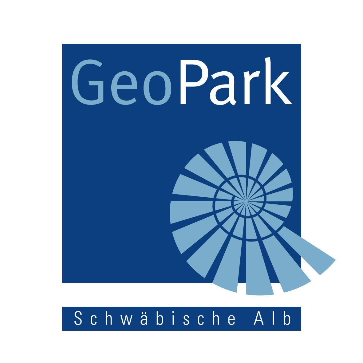 Das Logo des UNESCO Global Geopark Schwäbische Alb e.V.