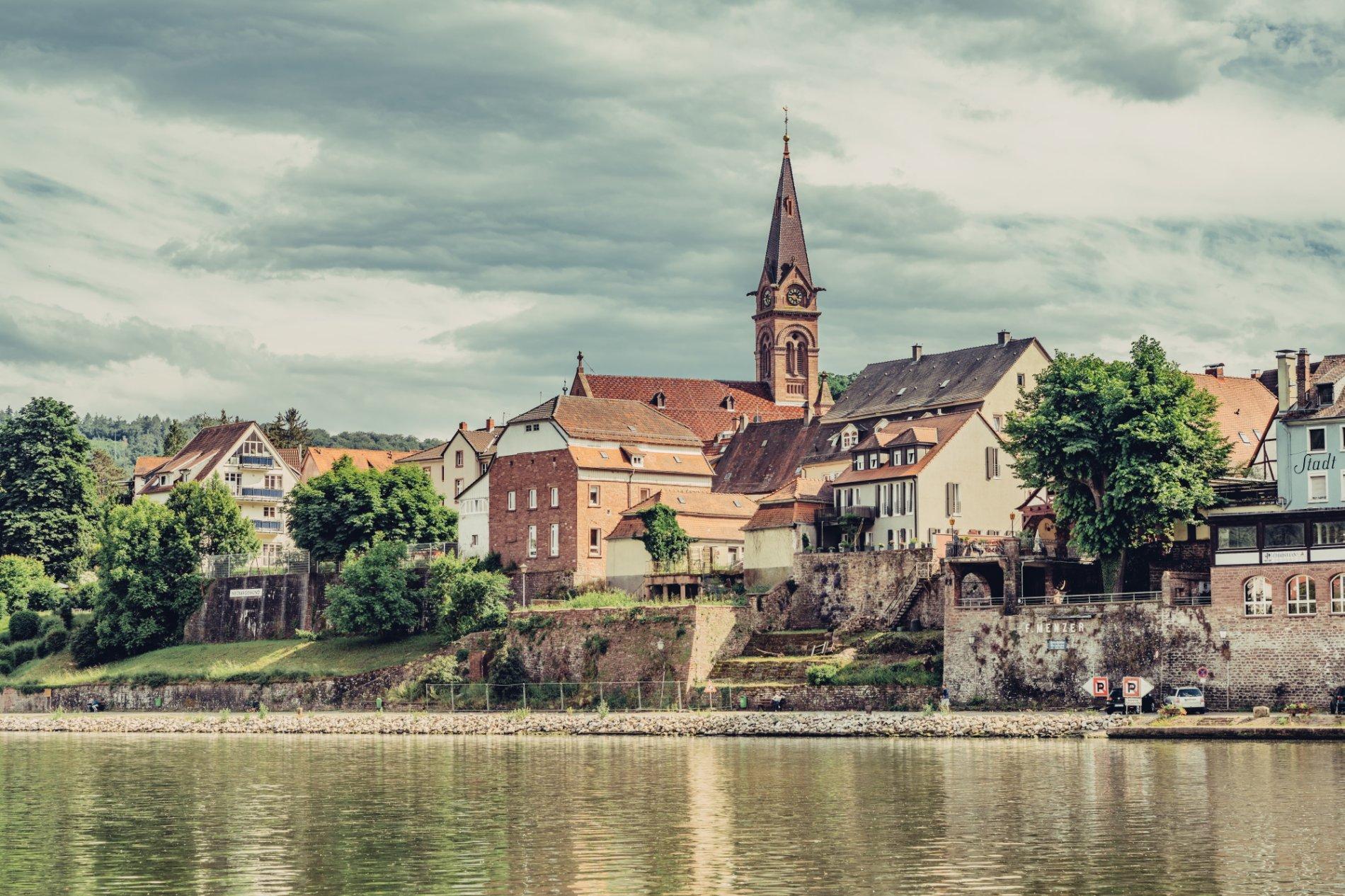 Die romantische Altstadt von Neckargemünd