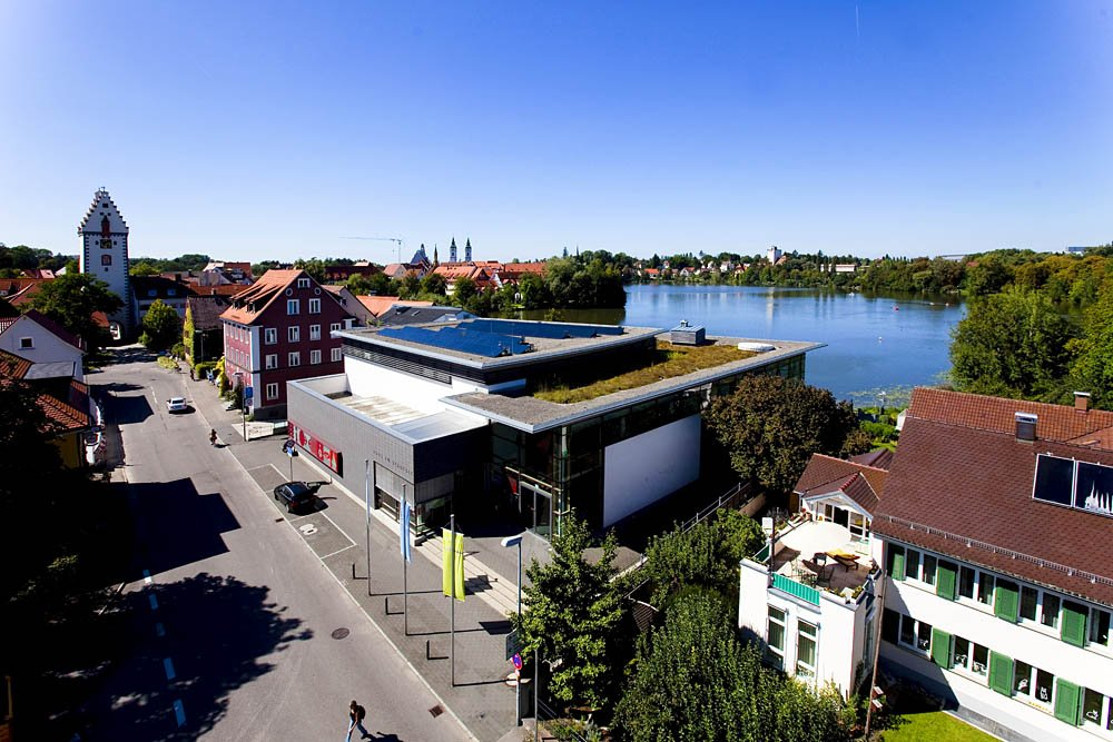 Blick auf das Haus am Stadtsee