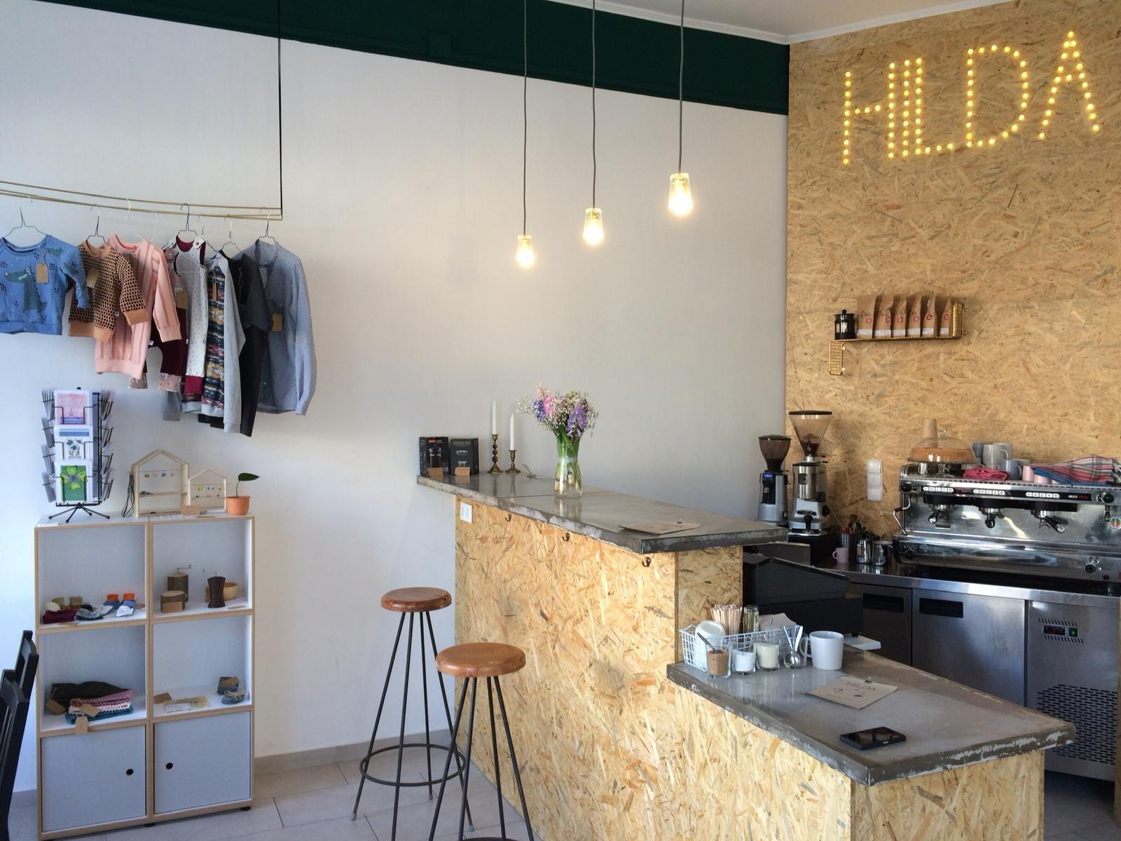 Hilda Kaffee und Faden - Innenansicht