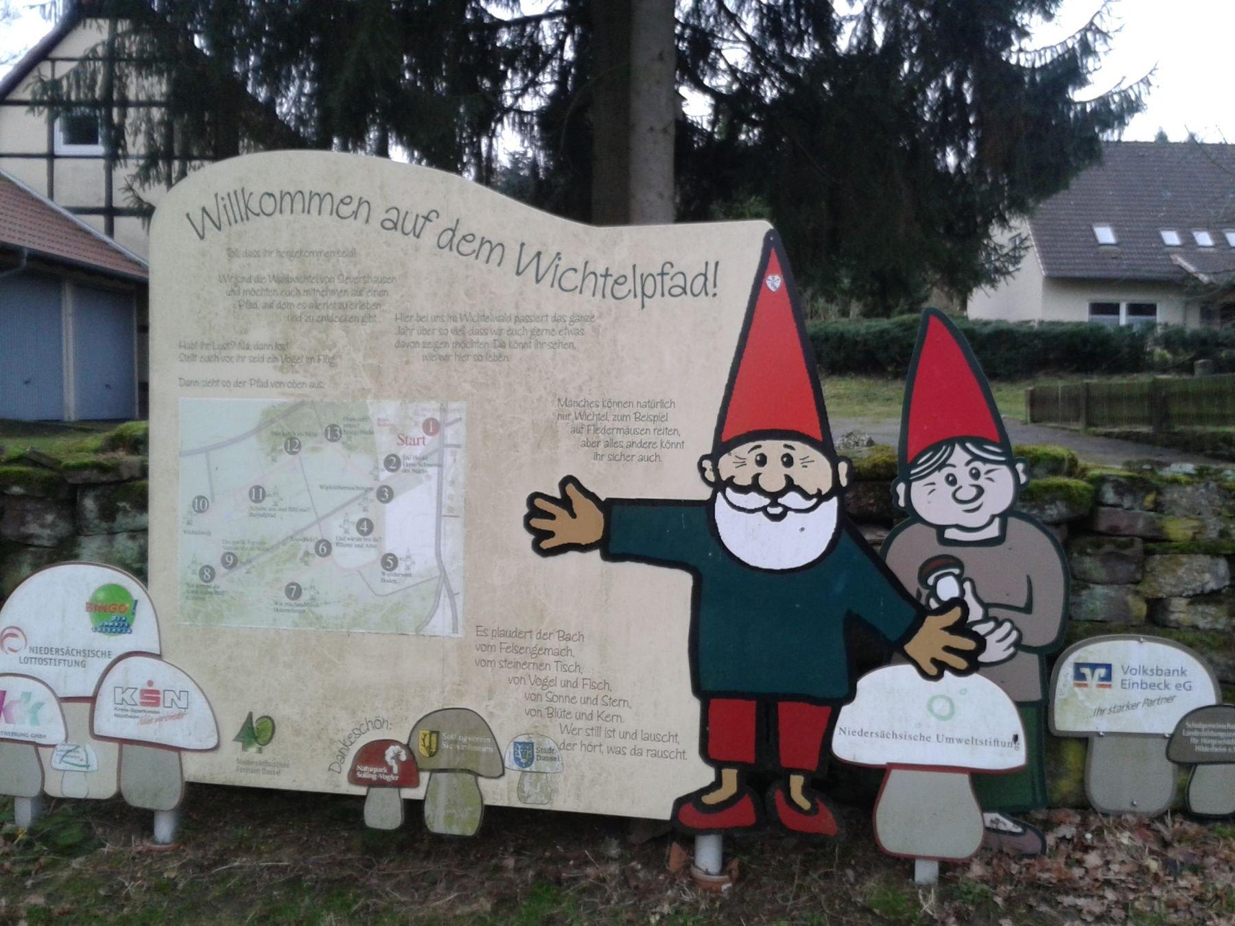 Willkommensstation Wichtelpfad
