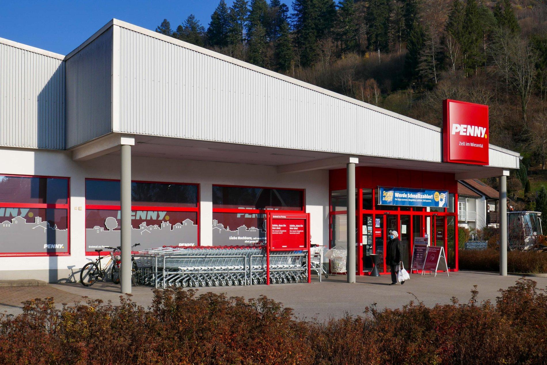 Penny Supermarkt in Zell im Wiesental