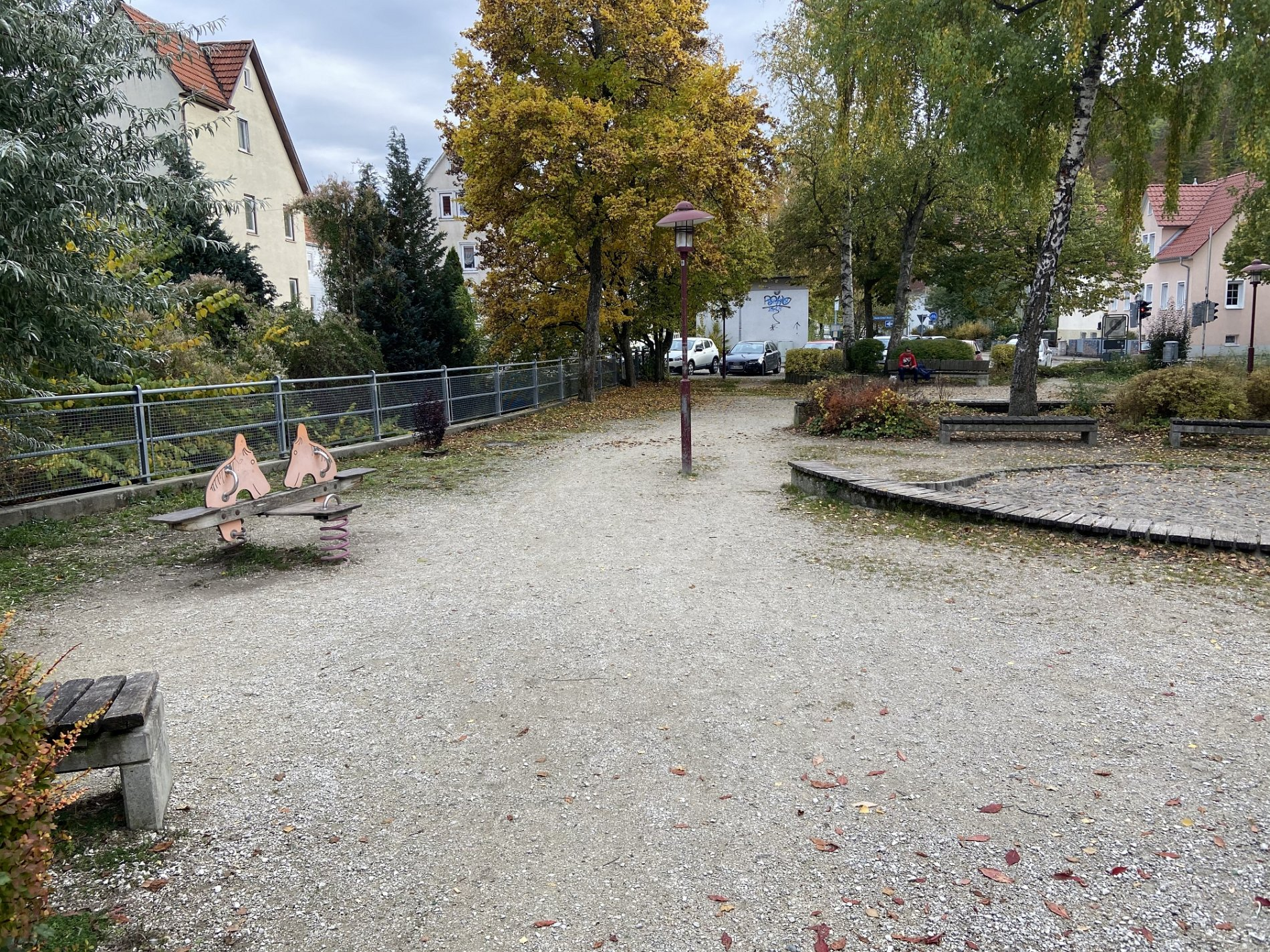Spielplatz Uhlandsgarten Albstadt-Viel Platz zum toben!