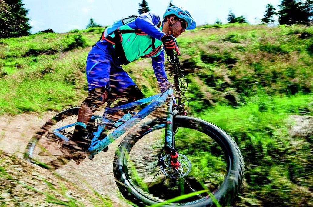 Mountainbike-Tour mit Zweirad Joos
