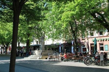 Der Karlsruher Werderplatz