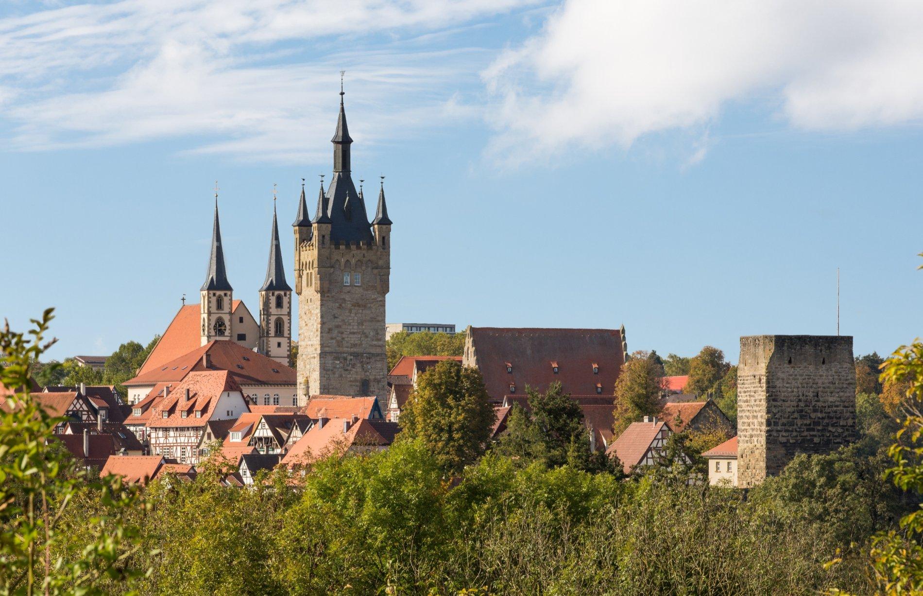 Bad Wimpfen - Stadtsilhouette der größten Kaiserpfalz nördlich der Alpen