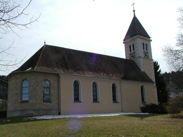St. Nikolaus Kirche in Weilen unter den Rinnen