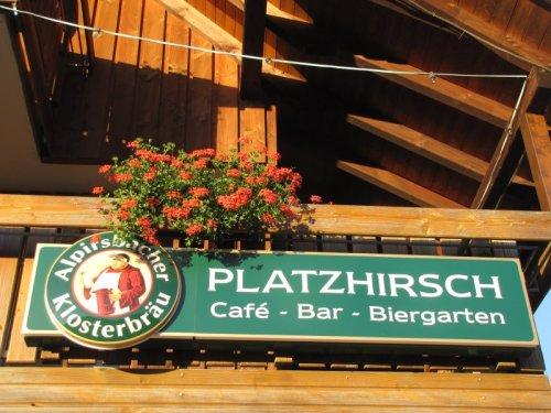 Platzhirsch in Wolfach