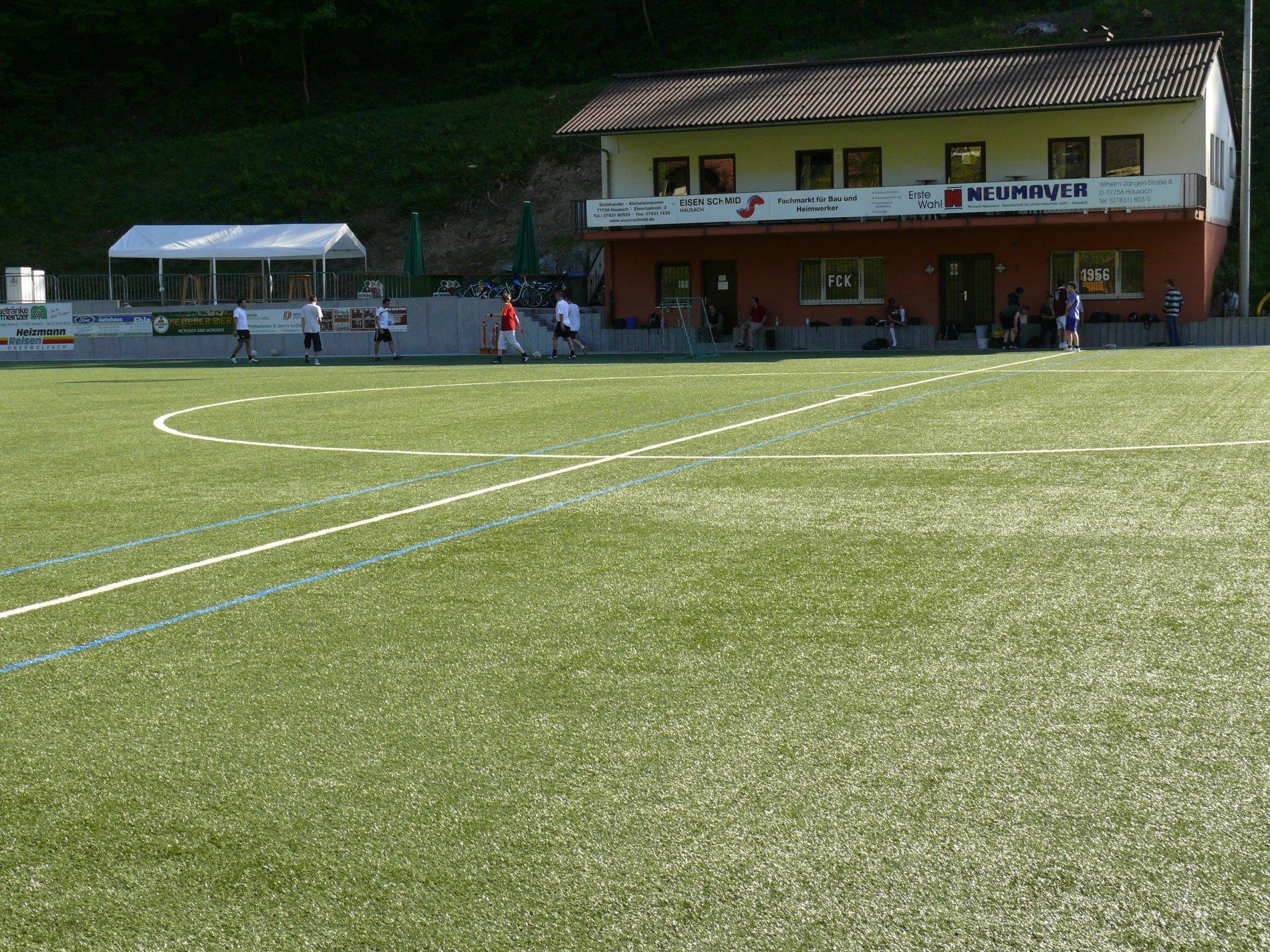 Clubhaus FC Kirnbach