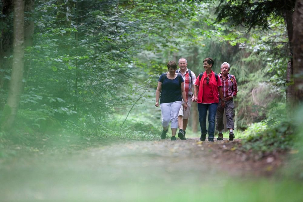 Wandern Qualitätsweg Oberes Glasbachtal