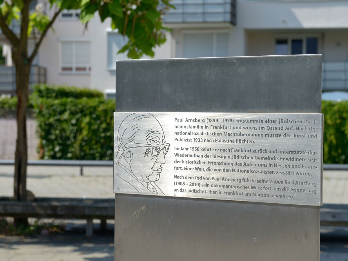 Paul Arnsberg Memorial stele
