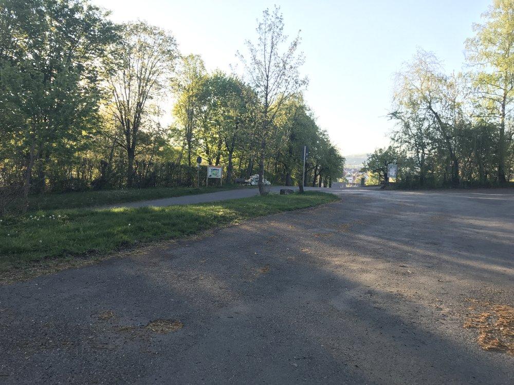 Parkplatz am Schützenhaus Hechingen