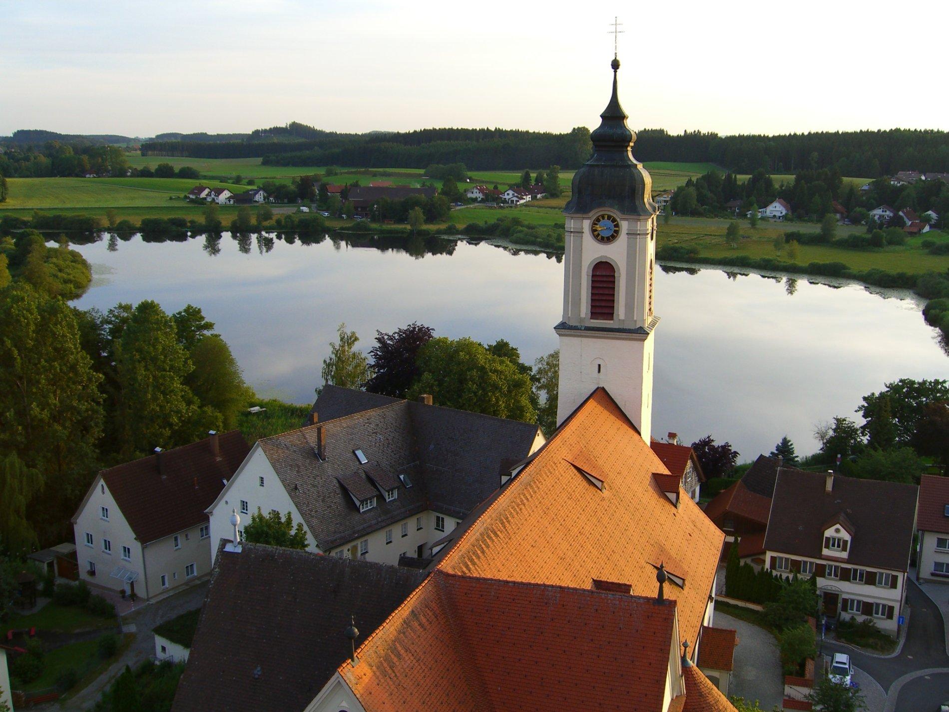 St. Gallus und Ulrich mit Zellersee