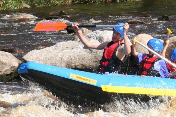 Fun-Rafting auf der Murg