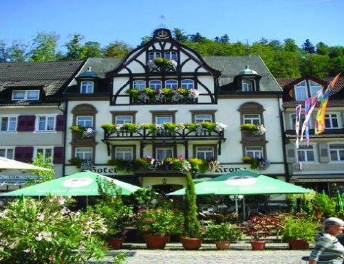 Außenbereich des Hotel-Restaurant Krone