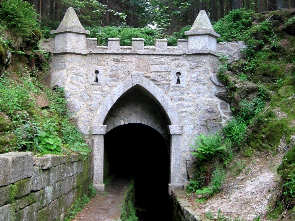 Kanaltunnel am Schwarzenberger Schwemmkanal