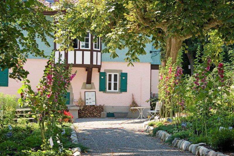 Privatgarten am Mia- und Hermann-Hesse-Haus Gaienhofen