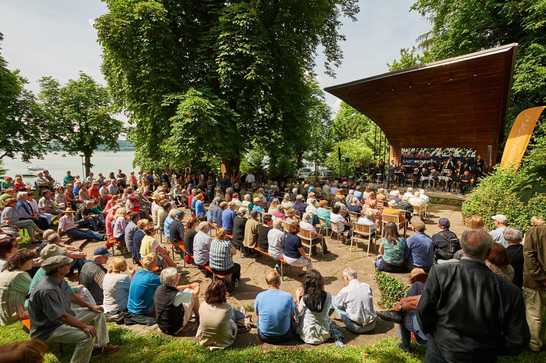 Konzertmuschel in Radolfzell am Bodensee