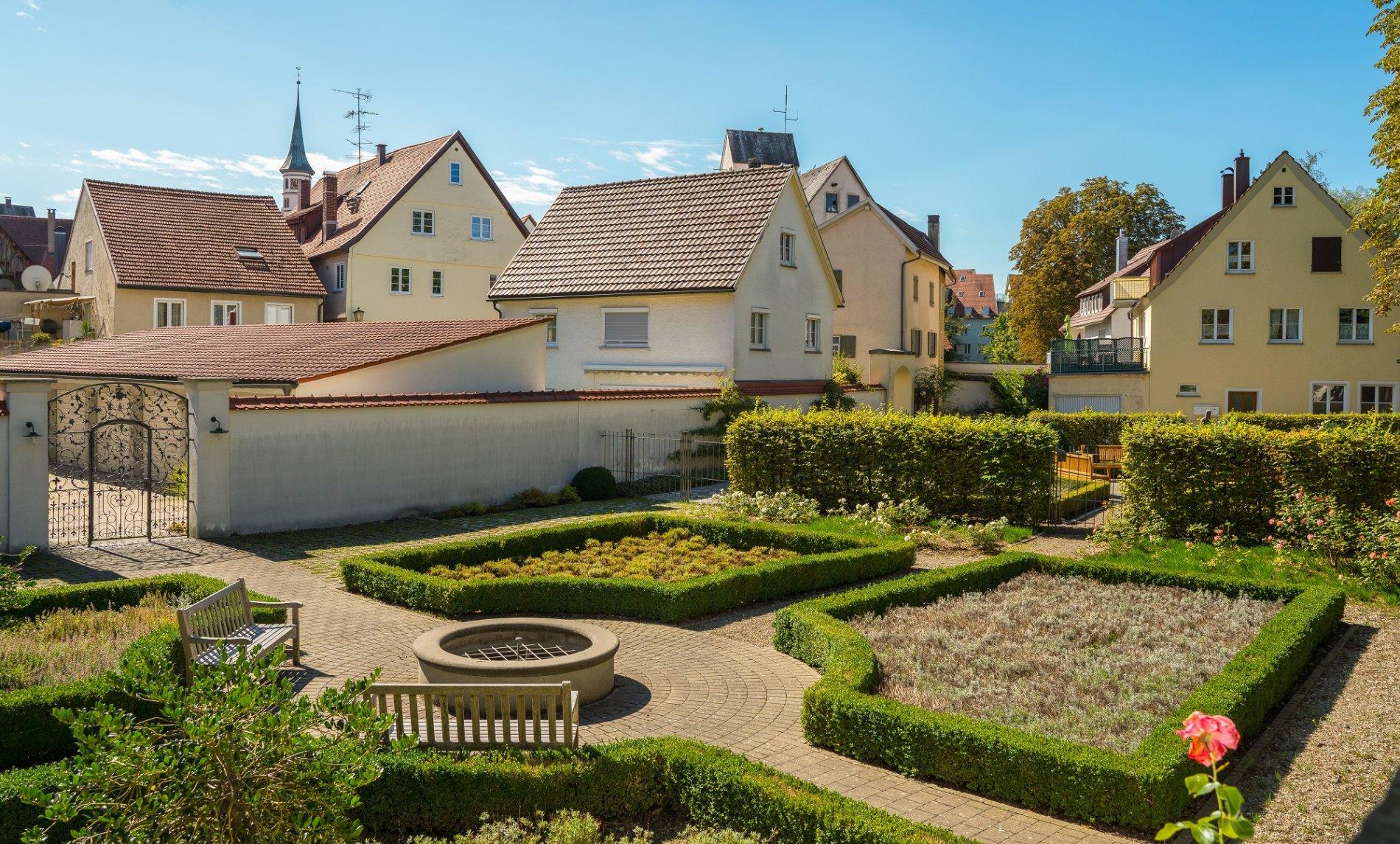Garten des Stadtschlosses