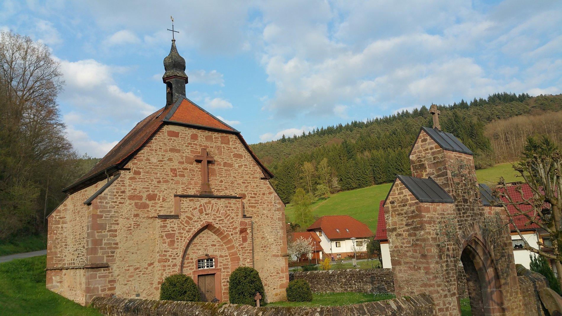 Oberzent Quellkirche Schöllenbach